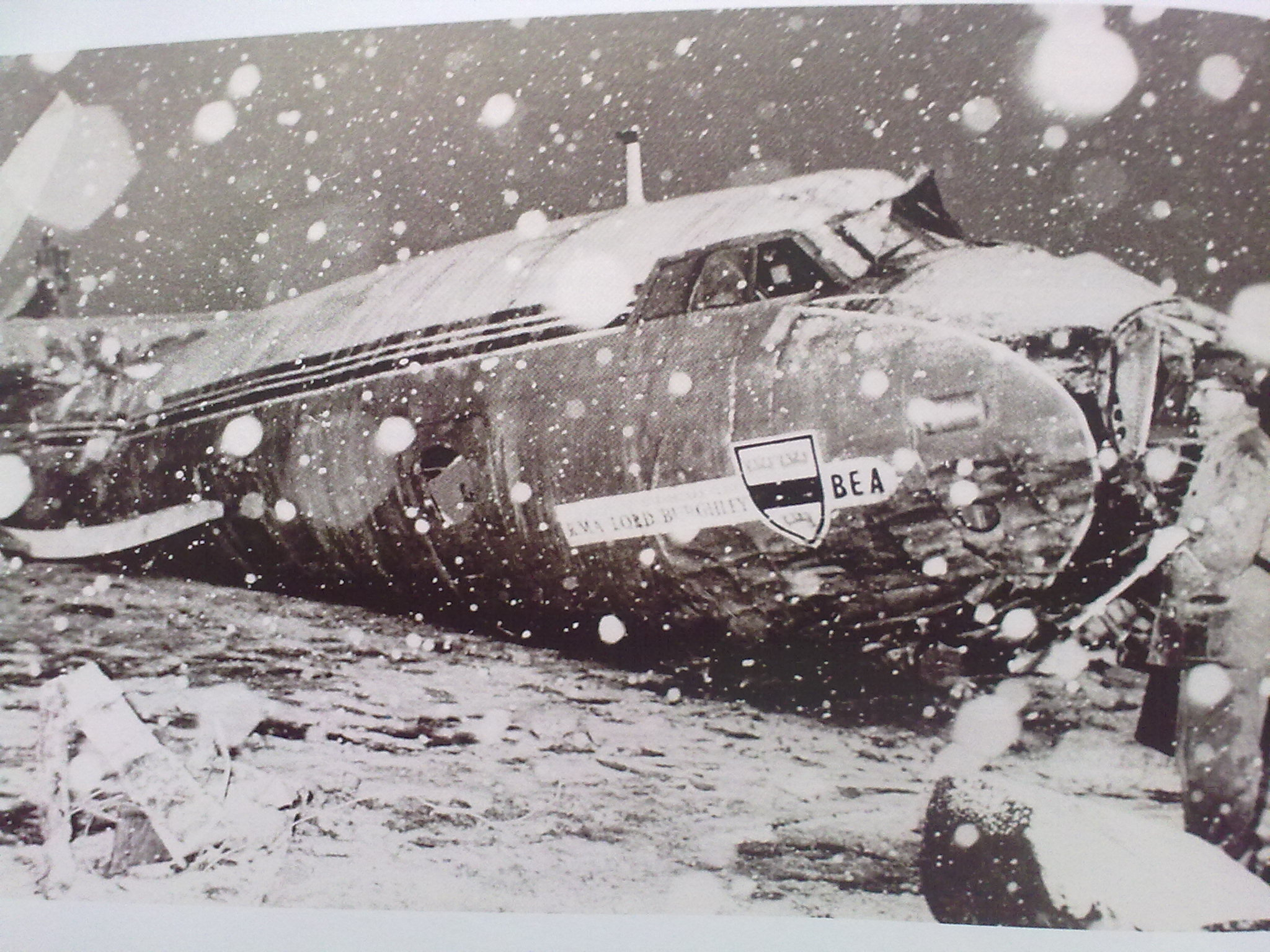 the crash p80 alex murphy The Munich Air Disaster